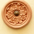 Stock Photo: Retro door bell