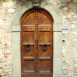 Elegant vintage door — Stock Photo