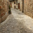 Stone narrow street - Stock Photo
