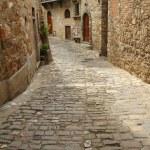 Stone narrow street — Stock Photo