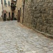 Stock Photo: Paved narrow street