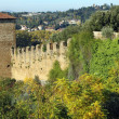 Florence town walls — Stock Photo