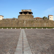 Fortress of Basso, place of most prestigious exhibitions - Stock Photo