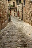 Rua pedra estreita — Foto Stock
