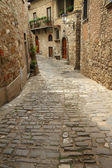 Stone narrow street — Foto Stock