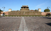 Fortress of Basso, place of most prestigious exhibitions — Stock Photo