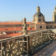 Roofs of salamanca town — Stock Photo