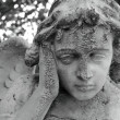 Pensive angelic figure — Stock Photo