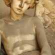 Beautiful antique angel sculpture — Stock Photo #8509164