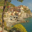 Mediterranean village - Stock Photo