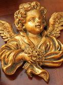 Figure de l'ange doré antique — Photo