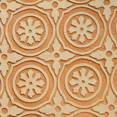 Floral ornamentation relief — Stock Photo