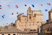 Español castillo de turégano — Foto de Stock