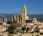 Landmarks of Segovia — Stock Photo