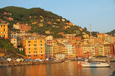 Italian seaside village Camogli — Foto Stock