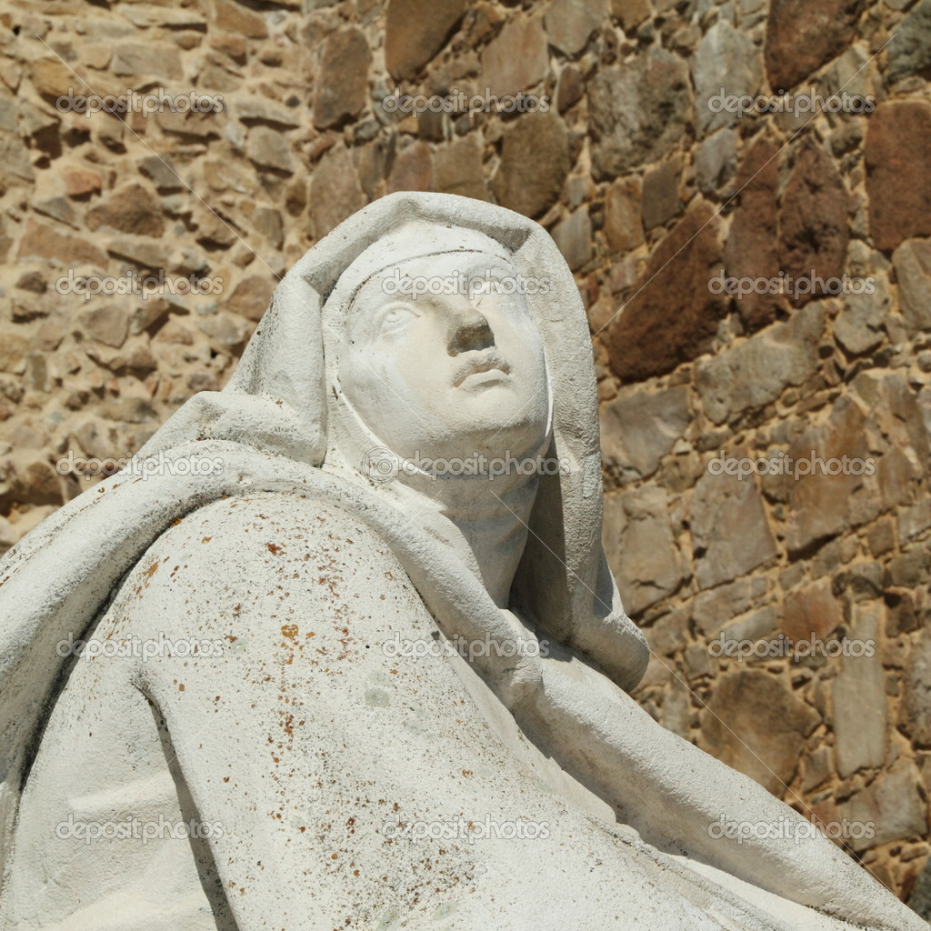 Sculpture of Saint Teresa of Avila, Avila, Spain, Europe  — Stock Photo #8506776