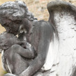 Stock Photo: Angel and child