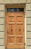 Elegant doorway — Stock Photo
