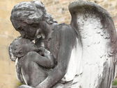 Angel and child — Stock Photo