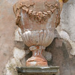 Antique terracotta garden vase — Stock Photo #8744488