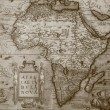 Stock Photo: Antique map of Africa