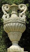 Antico vaso giardino ornamentale — Foto Stock