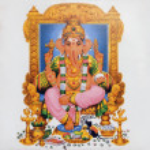 Hindu god Ganesha — Stock Photo