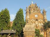 Chhatrapati shivaji terminus en bombay — Foto de Stock