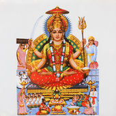 Hindu goddess Parvati — Stock Photo