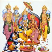 Hindu gods — Stock Photo
