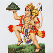 Hindu god Hanuman — Stock Photo