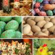 Easter collage - Stock Photo