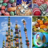 Polish Easter traditions — Stock Photo