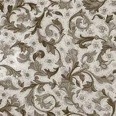 Damasco padrão floral — Foto Stock