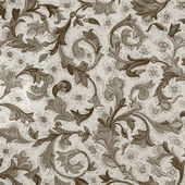 Damask floral pattern — Foto Stock