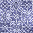 Blue damask paper - Stock Photo
