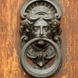 Elegant antique door knocker - Foto Stock