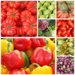 Veggie collage — Stock Photo
