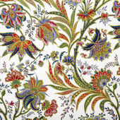 Teste padrão floral abstrato — Foto Stock