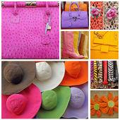 Collage con accesorios — Stockfoto
