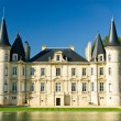 Chateau Pichon Longueville palace - Stock Photo
