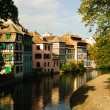 Half-timbered houses, Strasbourg — Stock Photo
