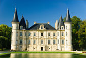Chateau Pichon Longueville palace — Stock Photo