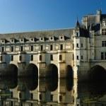Chateau de Chenonceau castle — Stock Photo