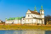 St.-Stanislaus-Kirche am Ska? ka in Krakau, Polen — Stockfoto