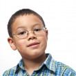 Royalty-Free Stock Photo: Little Boy with Glasses