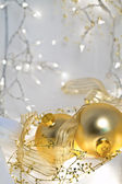 ロマンチックなクリスマス背景 — ストック写真