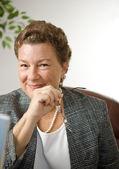 Confident Businesswoman Portrait — Stock Photo