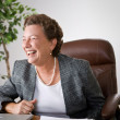 Laughing Female Executive — Stock Photo