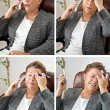 Four Headaches for Price of One! — Stock Photo #9820067